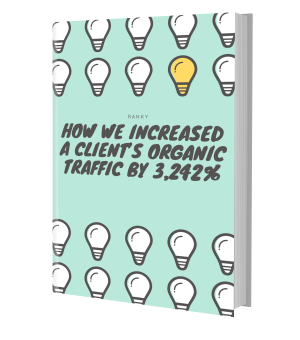 How we increased a client's organice traffic
